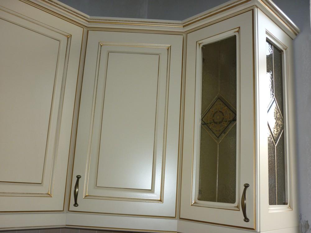 Белый кухонный гарнитур-Кухня из массива «Модель 234»-фото2