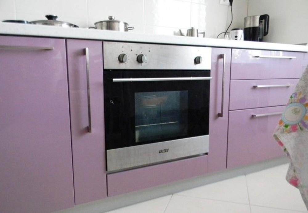 Встроенная кухня-Кухня МДФ в ПВХ «Модель 238»-фото5