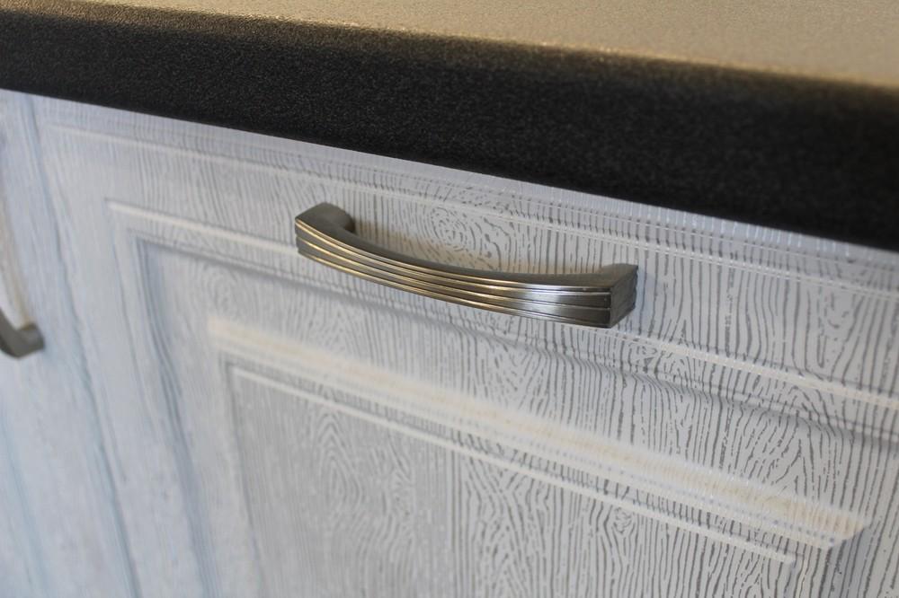 Белый кухонный гарнитур-Кухня МДФ в ПВХ «Модель 231»-фото7