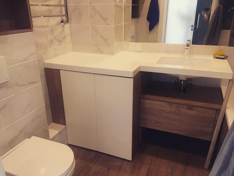 Мебель для ванной комнаты-Мебель для ванной «Модель 30»-фото1
