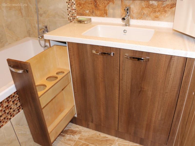 Мебель для ванной комнаты-Мебель для ванной «Модель 77»-фото1
