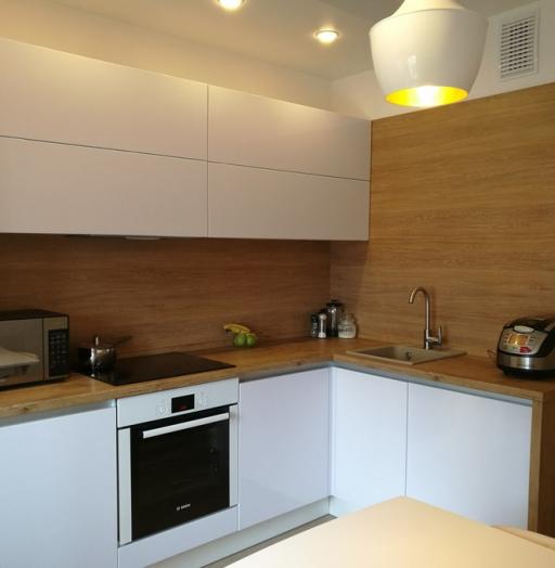-Кухня из пластика «Модель 438»-фото10