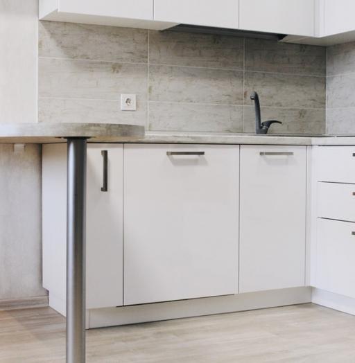-Кухня из пластика «Модель 460»-фото22