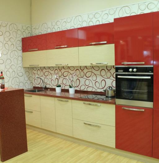 -Кухня из пластика «Модель 129»-фото11