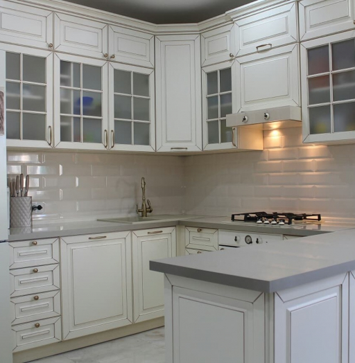 -Кухня МДФ в ПВХ «Модель 154»-фото15