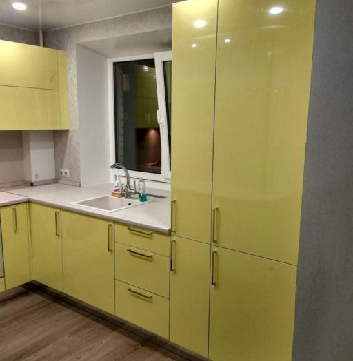 -Кухня МДФ в эмали «Модель 163»-фото19