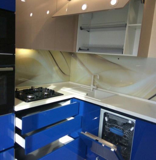 -Кухня МДФ в эмали «Модель 164»-фото18